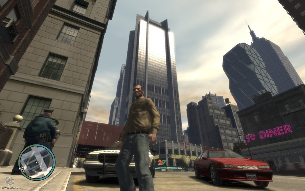Grand theft auto iv in style v mod (2014) rus скачать через.